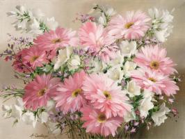 Rosa Blumen #11682