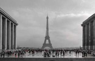 Paris With Red Accents #11813