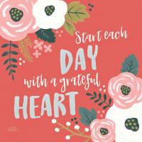 Wildflower Daydreams VII Grateful Heart #35171