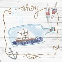 Ship in a Bottle Ahoy Shiplap #38810