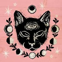 Mystical Halloween Pink IV #42013