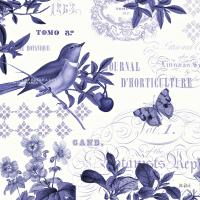 Botanical Blue II #42173