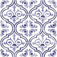 Botanical Blue Step 03 #42178