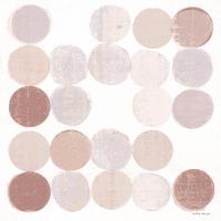 Dots II Square I Blush #42739