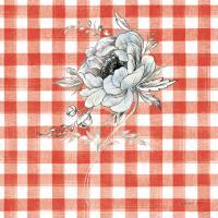 Sketchbook Garden VIII Red Checker #42822