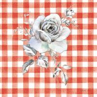 Sketchbook Garden IX Red Checker #42823