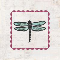 Dragonfly Stamp Bright #42870