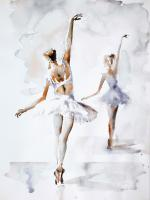 Ballerina In Blue #45762