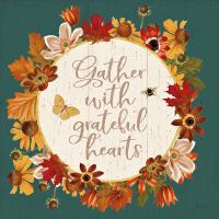 Fall Garden V Teal #46301