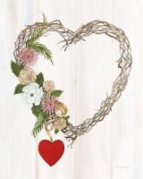 Rustic Valentine Heart Wreath I #46679