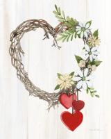 Rustic Valentine Heart Wreath II #46680