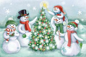 Classic Snowmen IV #47165
