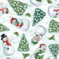 Classic Snowmen Step 01A #47168