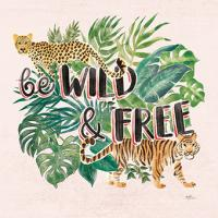 Jungle Vibes VII - Be Wild and Free Pink #47198