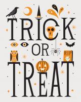 Festive Fright Trick or Treat I #48268