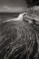 Pictured Rocks Michigan I BW #50393