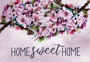 Home Sweet Home - Cherry blossoms #51231