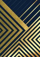 Metallic Lines Navy 2 #51933