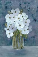 White Floral Blues 2 #52967
