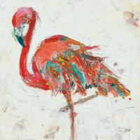 Flamingo on White #54287
