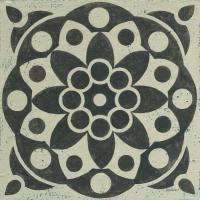 Black and White Tile II #55522