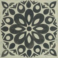 Black and White Tile III #55523