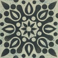 Black and White Tile IV #55524