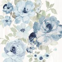 Driftwood Garden II Blue Crop #56486