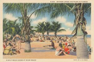Beach Postcard III #57445