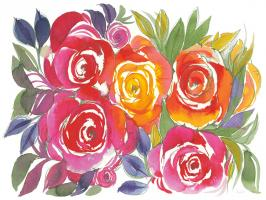 Bold Roses I #58111