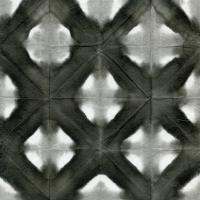 Aquarelle Black and White Square II #60598