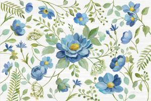 Botanical Blue I #61779