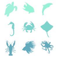Ombre Sea Creatures #90964