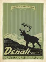 VINTAGE DENALI NATIONAL PARK USA MOOSE #JOEAND 116277