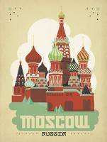 vintage moscow russia kremlin #JOEAND 116769