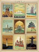 VINTAGE ADVERTISING PLACES OF THE WORLD #JOEAND 116771