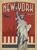 VINTAGE ADVERTISING USA NEW YORK STATUE OF LIBERTY UNITED STATES OF AMERICA #JOEAND 116772