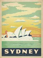 VINTAGE ADVERTISING SYDNEY OPERA HOUSE AUSTRALIA #JOEAND 116785