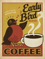 VINTAGE ADVERTISING EARLY BIRD COFFEE #JOEAND 116831