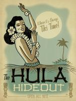 VINTAGE ADVERTISING HULA HAWAII #JOEAND 116834