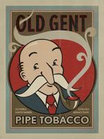 VINTAGE ADVERTISING PIPE TOBACCO OLD GENT #JOEAND 116838