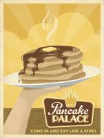 VINTAGE ADVERTISING PANCAKE PALACE #JOEAND 116839