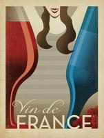 VINTAGE ADVERTISING VIN DE FRANCE WINE #JOEAND 116844