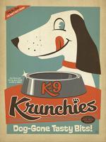 K9 Crunchies vintage dog food #JOEAND116835