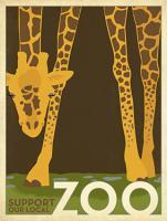Zoo vintage Giraffe #JOEAND116847