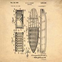 Surfboard, 1948-Antique #BE113011