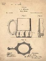 Beer Mug 1873 Sepia #BE113819