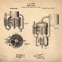 Whiskey Still 1906 Sepia #BE113885