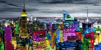 NYC In Living Color I #CAR112375