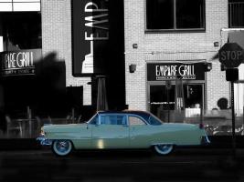 1955 Cadillac Coupe de Ville #CV113773